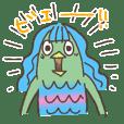 Japanese YOUKAI Amabie-chan