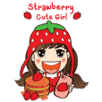 Strawberry Cute Girl (Fruit Ver.01)