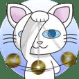 白ネコのルーナ 2