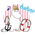 【泰文版】Moomin: Animated Summer Stickers