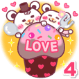 LOVE LOVE! I like you4 -Chocolate bear-