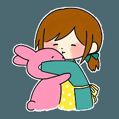 Healing girlfriend