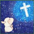 クリスチャン 祈りの言葉スタンプ