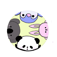 あいさつ パンダ