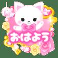 ピンクのデコスタンプ 【プチアニマル③】