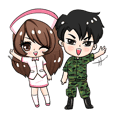 Soldier and Nurse