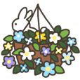 Cute flowers(wreath,vases,gardening)