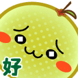 "20th century pear ""Nar-chan"""