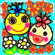 Moon & Flower