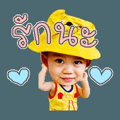 little boy cute sticker2.