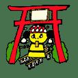 Niihama festival sticker