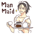Man Maid (not a butler) Eng.