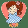 可爱的女孩 MIHO