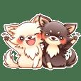 SHIROCHIWACHAN&KUROCHIWACHAN2