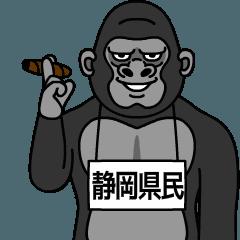 shizuokakenmin is gorilla