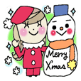 Winter sticker 1