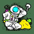 Nostalgic astronaut Sigekuni boy