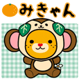 みきゃん(着ぐるみ・お正月セット)