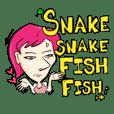 Snake Snake Fish Fish (F)
