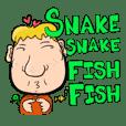 Snake Snake Fish Fish (M)