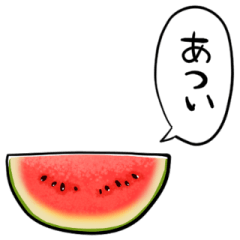 talking watermelon