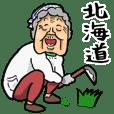 Granny in Hokkaido