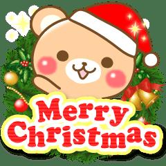 敬語くまさんのクリスマスお正月 Line スタンプ Line Store
