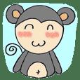 Momo little monkey