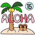 Hawaiian adult sticker15