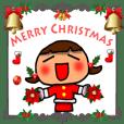 クリスマス スタンプ1