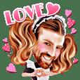 Ladybeard Sticker