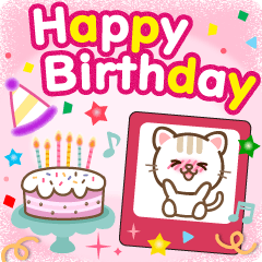 Natural cat, events and birthday japan