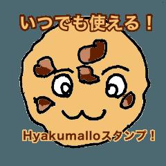 Hyakumallo sticker