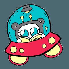 Galaxy-silly alien!ha