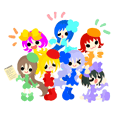 Rainbow Fairy Sticker