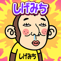 Shigemichi is a Funny Monkey2