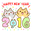 Necoco Happy New Year 2016