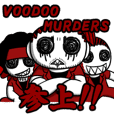 VOODOO MURDERS Sticker