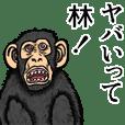 Sticker of Hayashi
