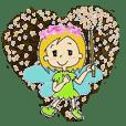 pretty fairies and fairy dust