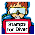 ~Under the Sea~ Stickers for Scuba Diver