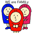 WE are FAMILy /for wife and mother