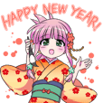 New years conversation Japanese Moe