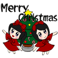 Popular funny cute:Donna&berry Christmas