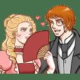 Gorgeous Royal Couple