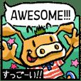 用图片学习日语和英语