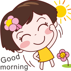 Good Morning Sister Line Stickers Line Store