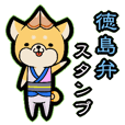 Tokushima accent sticker!!
