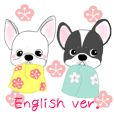 French bulldog Ume 3 English ver.