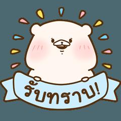 Friend is a bear( I often use)(thai)